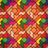 Colorful geometric pattern Stock Photo