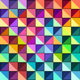 Colorful Geometric Pattern Stock Photography