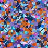 Colorful geometric pattern Royalty Free Stock Images