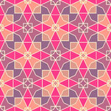 Colorful geometric pattern_13. Seamless mosaic pattern. Vector illustration. Perfect for wallpaper design, textile design or anyone another your design idea Stock Image