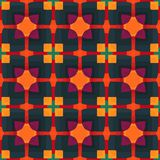 Colorful geometric pattern_11. Colorful seamless pattern. Vector illustration. Perfect for wallpaper design, textile design or anyone another your design idea Stock Photography