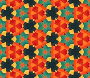 Colorful geometric pattern_6. Colorful seamless pattern. Vector illustration. Perfect for wallpaper design, textile design or anyone another your design idea Royalty Free Stock Photos