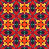 Colorful geometric pattern_7. Colorful seamless pattern. Vector illustration. Perfect for wallpaper design, textile design or anyone another your design idea Stock Image