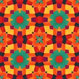 Colorful geometric pattern_8 Royalty Free Stock Photography