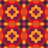 Colorful geometric pattern_9. Colorful seamless pattern. Vector illustration. Perfect for wallpaper design, textile design or anyone another your design idea Stock Image