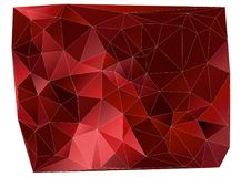 Colorful geometric pattern colorful geometric pattern. Colorful geometric pattern, triangle polygon design,  background, red cells Royalty Free Stock Photo