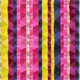 Colorful geometric seamless background Stock Photos