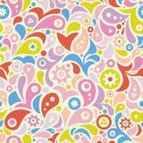 Colorful geometric seamless pattern Royalty Free Stock Photos