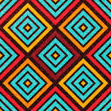 Colorful geometric seamless pattern. Abstract modern style. Fashion style royalty free illustration