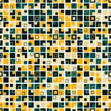 Colorful geometric seamless pattern. Consists of squares of different colors. Colorful geometric seamless pattern. Consists of squares of different colors vector illustration