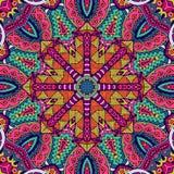 Colorful geometric seamless pattern. Festive Colorful Tribal ethnic seamless vector pattern ornamental. Geometric print Royalty Free Stock Photography