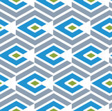 Colorful geometric seamless pattern, symmetric endless vector ba. Ckground. Abstract concept covering with parallel lines royalty free illustration