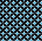 Colorful geometric seamless pattern, symmetric endless vector ba Royalty Free Stock Photography