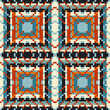 Colorful geometric seamless pattern. (vector eps 10 stock illustration