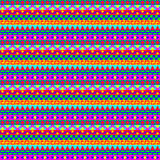 Colorful Geometric Stripes Pattern Royalty Free Stock Image