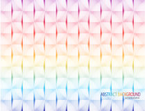 Colorful geometric texture vector Royalty Free Stock Photos