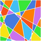 Colorful Geometric triangle Background. Vector. Illustration Royalty Free Stock Photo