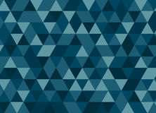 Colorful geometric triangle seamless pattern. Abstract vector ba. Ckground royalty free illustration