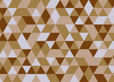 Colorful geometric triangle seamless pattern. Abstract vector ba Stock Photos