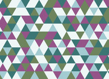 Colorful geometric triangle seamless pattern. Abstract vector ba. Ckground Royalty Free Stock Photography