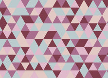 Colorful geometric triangle seamless pattern. Abstract vector ba. Ckground Royalty Free Stock Images