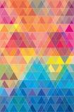 Colorful geometric triangles pattern jpeg. Colorful geometric triangles pattern picture Royalty Free Stock Image