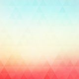 Colorful geometric vector background with Stock Images
