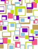 Colorful geometrical abstract  Royalty Free Stock Photos