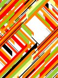 Colorful Geometrical Abstract Royalty Free Stock Photography