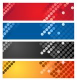 Colorful geometrical abstract background Stock Images