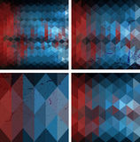 Colorful geometrical background Royalty Free Stock Images