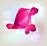 Colorful geometrical background Stock Image