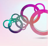 Colorful geometrical background Royalty Free Stock Image