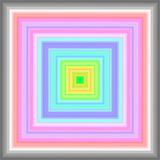 Colorful geometrical background in pastel colors Stock Photography