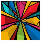 Colorful geometry abstract background, vector illustration. EPS file available. see more images related vector illustration