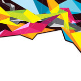 Colorful geometry background Royalty Free Stock Image