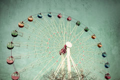 Colorful Giant ferris wheel Stock Image