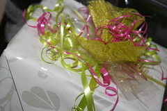 Colorful gift Royalty Free Stock Photo