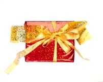 Colorful gift Stock Images