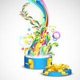 Colorful Gift Stock Image