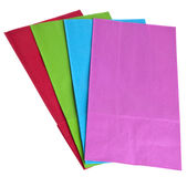 Colorful Gift Bags Stock Photos