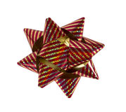 Colorful gift bow Royalty Free Stock Images