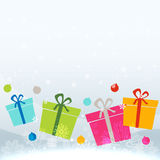 Colorful gift box Stock Image