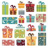 Colorful Gift Box Collection Stock Photo