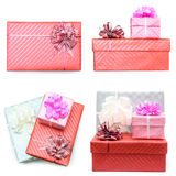 Colorful gift box Stock Photos