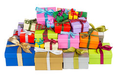 Free Colorful Gift Boxes Royalty Free Stock Images - 35848609