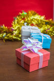 Colorful of gift Stock Photo