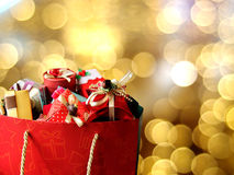 Colorful gift boxes. Royalty Free Stock Photo