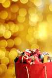 Colorful gift boxes. Stock Image
