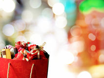 Colorful gift boxes. Royalty Free Stock Images